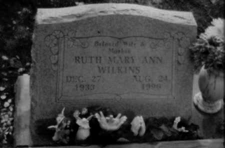 WILKINS, RUTH - Logan County, Arkansas | RUTH WILKINS - Arkansas Gravestone Photos