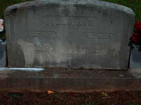WILKINS, SERENA JANE - Logan County, Arkansas | SERENA JANE WILKINS - Arkansas Gravestone Photos