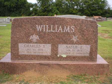 WILLIAMS, SALLIE E - Logan County, Arkansas | SALLIE E WILLIAMS - Arkansas Gravestone Photos