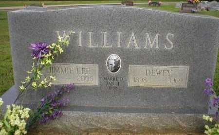 WILLIAMS, JIMMIE LEE - Logan County, Arkansas | JIMMIE LEE WILLIAMS - Arkansas Gravestone Photos