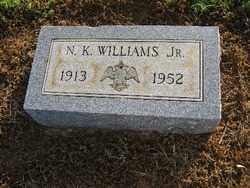 WILLIAMS, JR., N. K. - Logan County, Arkansas | N. K. WILLIAMS, JR. - Arkansas Gravestone Photos