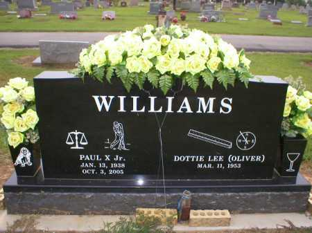 WILLIAMS, JR, PAUL X - Logan County, Arkansas | PAUL X WILLIAMS, JR - Arkansas Gravestone Photos