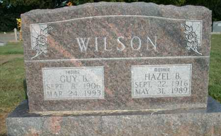 WILSON, HAZEL B - Logan County, Arkansas | HAZEL B WILSON - Arkansas Gravestone Photos