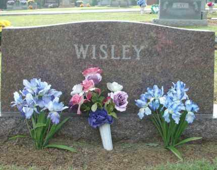 WISLEY JR., OMER W. - Logan County, Arkansas | OMER W. WISLEY JR. - Arkansas Gravestone Photos