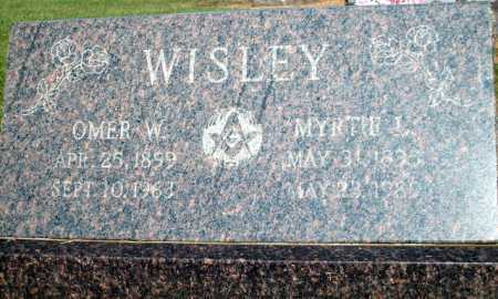 WISLEY, OMER W. - Logan County, Arkansas | OMER W. WISLEY - Arkansas Gravestone Photos