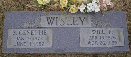 WISLEY, S GENETTIE - Logan County, Arkansas | S GENETTIE WISLEY - Arkansas Gravestone Photos