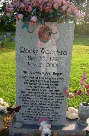 WOODARD, ROCKY - Logan County, Arkansas | ROCKY WOODARD - Arkansas Gravestone Photos