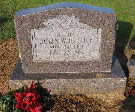 WOODLIFF, JULIA - Logan County, Arkansas | JULIA WOODLIFF - Arkansas Gravestone Photos