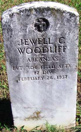 WOODLIFF (VETERAN), JEWELL C - Logan County, Arkansas | JEWELL C WOODLIFF (VETERAN) - Arkansas Gravestone Photos