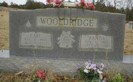 WOOLDRIDGE, WANDA - Logan County, Arkansas | WANDA WOOLDRIDGE - Arkansas Gravestone Photos
