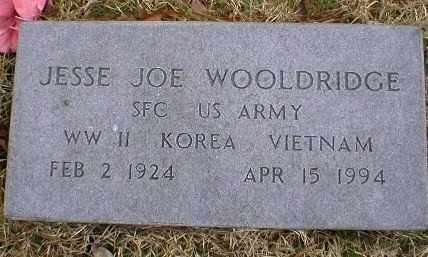 WOOLDRIDGE (VETERAN 3 WARS), JESSE JOE - Logan County, Arkansas | JESSE JOE WOOLDRIDGE (VETERAN 3 WARS) - Arkansas Gravestone Photos