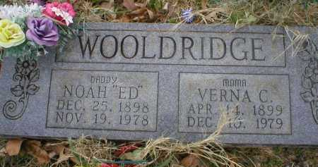 WOOLDRIDGE, VERNA C - Logan County, Arkansas | VERNA C WOOLDRIDGE - Arkansas Gravestone Photos