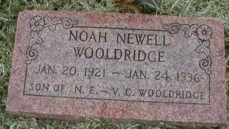 WOOLDRIDGE, NOAH NEWELL - Logan County, Arkansas | NOAH NEWELL WOOLDRIDGE - Arkansas Gravestone Photos