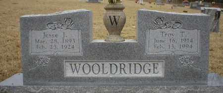 WOOLDRIDGE, TROY T. - Logan County, Arkansas | TROY T. WOOLDRIDGE - Arkansas Gravestone Photos