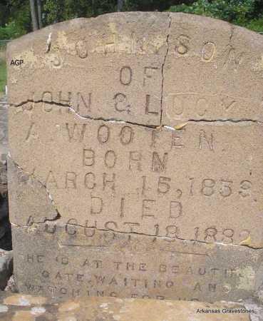 WOOTEN, JOHN - Logan County, Arkansas | JOHN WOOTEN - Arkansas Gravestone Photos