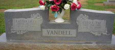 YANDELL, EASTER - Logan County, Arkansas | EASTER YANDELL - Arkansas Gravestone Photos
