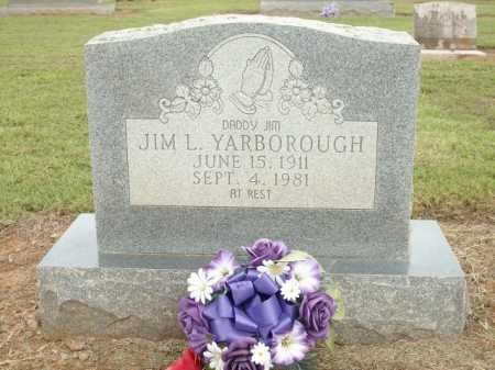 YARBOROUGH, JIM L - Logan County, Arkansas | JIM L YARBOROUGH - Arkansas Gravestone Photos