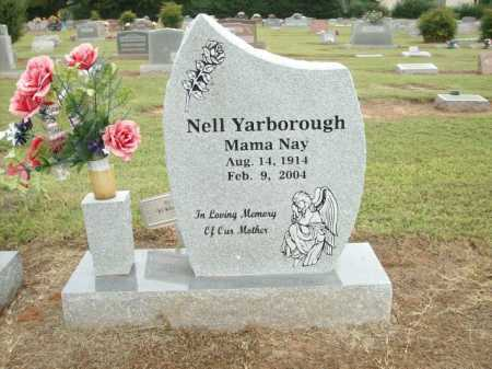 YARBOROUGH, NELL - Logan County, Arkansas | NELL YARBOROUGH - Arkansas Gravestone Photos