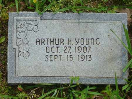 YOUNG, ARTHUR - Logan County, Arkansas | ARTHUR YOUNG - Arkansas Gravestone Photos