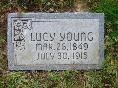YOUNG, LUCY - Logan County, Arkansas | LUCY YOUNG - Arkansas Gravestone Photos
