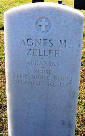 ZELLER (VETERAN), AGNES M - Logan County, Arkansas | AGNES M ZELLER (VETERAN) - Arkansas Gravestone Photos