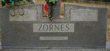 ZORNES, ALBERT J. - Logan County, Arkansas | ALBERT J. ZORNES - Arkansas Gravestone Photos