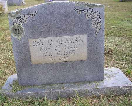 ALAMAN, FAY COY - Lonoke County, Arkansas | FAY COY ALAMAN - Arkansas Gravestone Photos