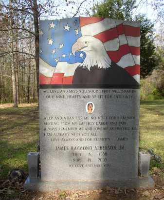 ALBERSON, JAMES RAYMOND - Lonoke County, Arkansas | JAMES RAYMOND ALBERSON - Arkansas Gravestone Photos