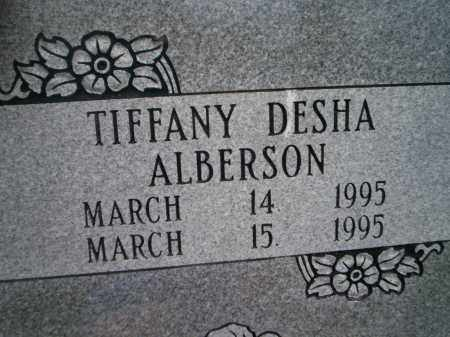 ALBERSON, TIFFANY DESHA - Lonoke County, Arkansas | TIFFANY DESHA ALBERSON - Arkansas Gravestone Photos