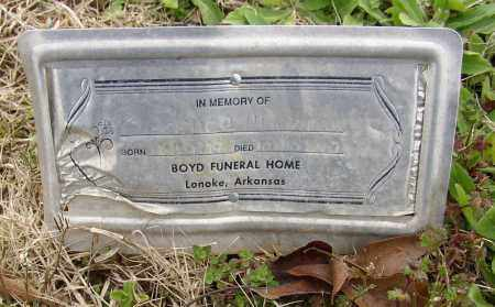 ALDERMAN, CLARENCE - Lonoke County, Arkansas | CLARENCE ALDERMAN - Arkansas Gravestone Photos