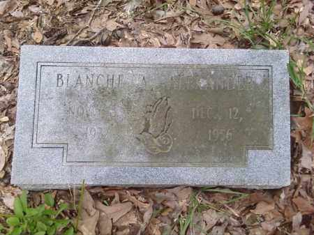 ALEXANDER, BLANCHE A. - Lonoke County, Arkansas | BLANCHE A. ALEXANDER - Arkansas Gravestone Photos