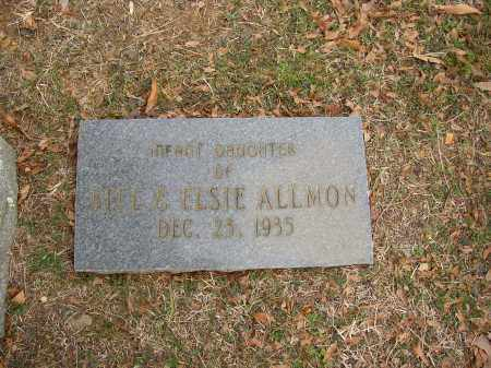 ALLMON, INFANT DAUGHTER - Lonoke County, Arkansas | INFANT DAUGHTER ALLMON - Arkansas Gravestone Photos