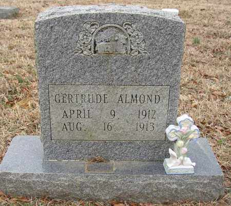 ALMOND, GERTRUDE - Lonoke County, Arkansas | GERTRUDE ALMOND - Arkansas Gravestone Photos