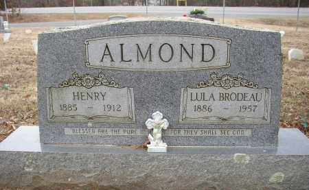 ALMOND, LULA BRODEAU - Lonoke County, Arkansas | LULA BRODEAU ALMOND - Arkansas Gravestone Photos