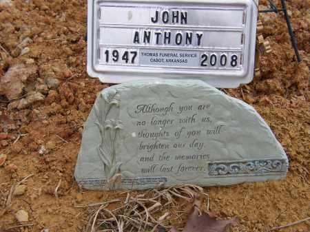 ANTHONY, JOHN - Lonoke County, Arkansas | JOHN ANTHONY - Arkansas Gravestone Photos