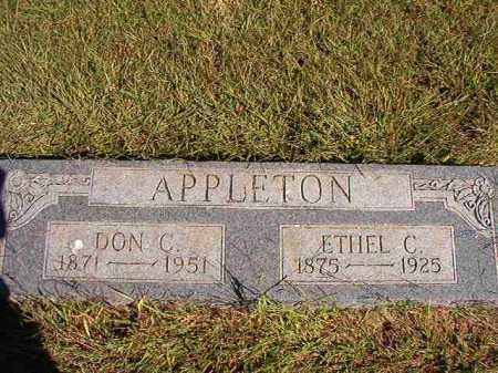APPLETON, ETHEL C - Lonoke County, Arkansas | ETHEL C APPLETON - Arkansas Gravestone Photos