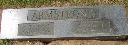"ARMSTRONG, R. T. ""RASS"" - Lonoke County, Arkansas | R. T. ""RASS"" ARMSTRONG - Arkansas Gravestone Photos"