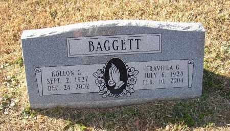 BAGGETT, FRAVILLA G - Lonoke County, Arkansas | FRAVILLA G BAGGETT - Arkansas Gravestone Photos