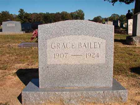 BAILEY, GRACE - Lonoke County, Arkansas | GRACE BAILEY - Arkansas Gravestone Photos