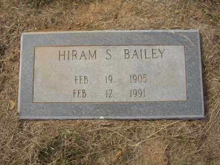 BAILEY, HIRAM S. - Lonoke County, Arkansas | HIRAM S. BAILEY - Arkansas Gravestone Photos