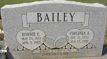 BAILEY, VIRGINIA A. - Lonoke County, Arkansas | VIRGINIA A. BAILEY - Arkansas Gravestone Photos