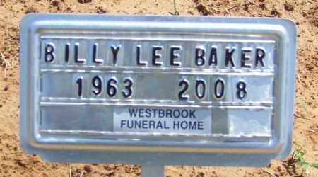 BAKER, BILLY LEE - Lonoke County, Arkansas | BILLY LEE BAKER - Arkansas Gravestone Photos