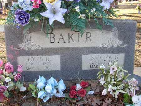 BAKER, ISADORA G. - Lonoke County, Arkansas | ISADORA G. BAKER - Arkansas Gravestone Photos