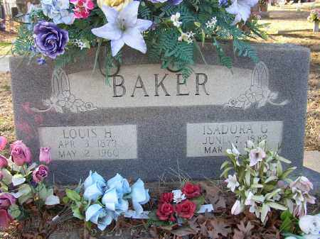 BAKER, LOUIS H. - Lonoke County, Arkansas | LOUIS H. BAKER - Arkansas Gravestone Photos