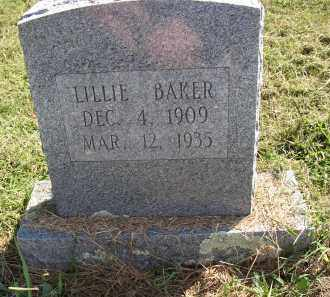 BAKER, LILLIE - Lonoke County, Arkansas | LILLIE BAKER - Arkansas Gravestone Photos