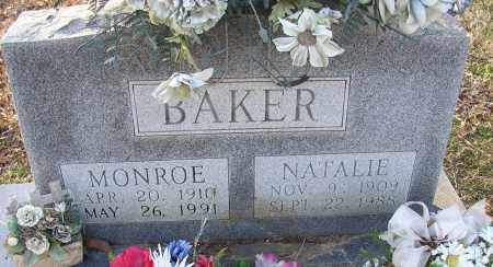 BAKER, MONROE - Lonoke County, Arkansas | MONROE BAKER - Arkansas Gravestone Photos