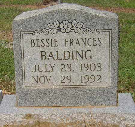 BALDING, BESSIE FRANCES - Lonoke County, Arkansas | BESSIE FRANCES BALDING - Arkansas Gravestone Photos