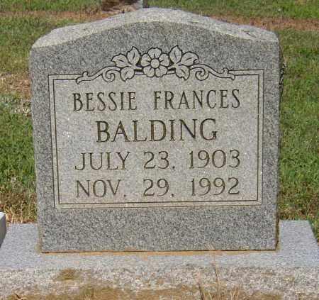 BALDING, BESSIE FRANCES - Lonoke County, Arkansas | BESSIE FRANCES BALDING - Arkansas Gravestone Photos