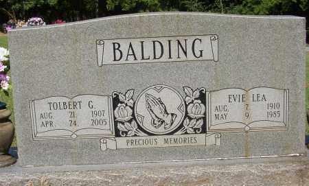 BALDING, EVIE LEA - Lonoke County, Arkansas | EVIE LEA BALDING - Arkansas Gravestone Photos