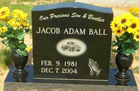 BALL, JACOB ADAM - Lonoke County, Arkansas | JACOB ADAM BALL - Arkansas Gravestone Photos